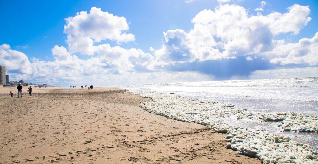 The North Sea, the Netherlands, Noordwijk.